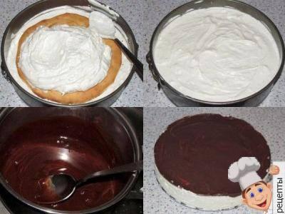 торт птичье молокос желатином