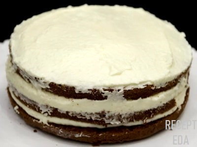 торт с маскарпоне и сливками