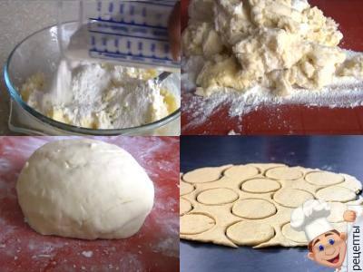 печенье творожное гусиные лапки рецепт