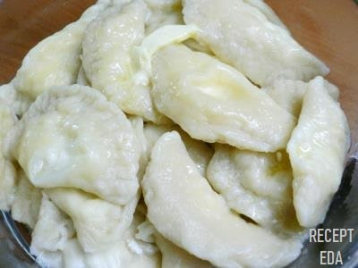 вареники с сыром сулугуни