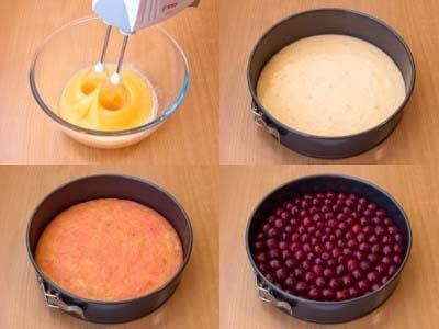 Торт с маскарпоне, рецепт