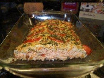 рецепт приготовления красной рыбы в духовке
