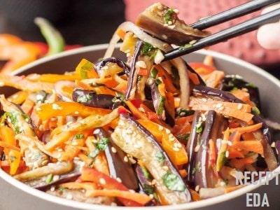 хе из баклажан по-корейски самый вкусный рецепт
