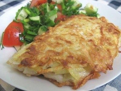 рыба в картофельной корочке, рецепт