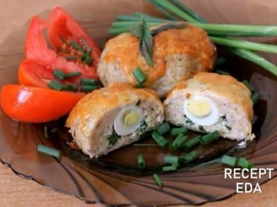 зразы из индейки с яйцом